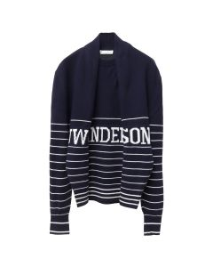 JW Anderson JW ANDERSON LOGO KNITTED JUMPER / 887 : NAVY