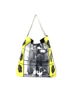 JW Anderson OVERSIZED PRINTED DUFFLE / 999 : BLACK
