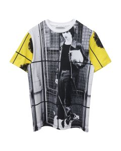JW Anderson G+G DOG BOY ALLOVER PRINT SHORT SLEEVE T-SHIRT / 001 : WHITE