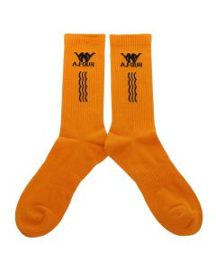 A.FOUR LABS meets POSH ISOLATION for KAPPA SOCKS / ORANGE