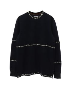 A.FOUR LABS meets POSH ISOLATION for KAPPA SWEATSHIRT / NAVY