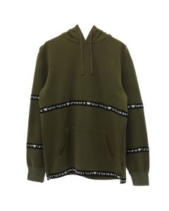 A.FOUR LABS meets POSH ISOLATION for KAPPA SWEAT HOODIE / KHAKI