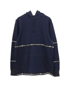 A.FOUR LABS meets POSH ISOLATION for KAPPA SWEAT HOODIE / NAVY