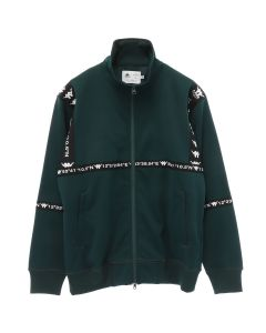 A.FOUR LABS meets POSH ISOLATION for KAPPA KNIT JACKET / GREEN
