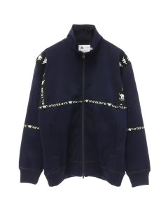 A.FOUR LABS meets POSH ISOLATION for KAPPA KNIT JACKET / NAVY