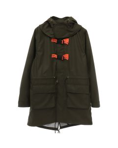 A.FOUR LABS meets POSH ISOLATION for KAPPA HOODED COAT / KHAKI
