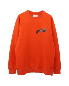 Kirin By Peggy Gou GUN FLEECE R CREW SWEATSHIRT / 2180 : ORANGE MULTICOLOR