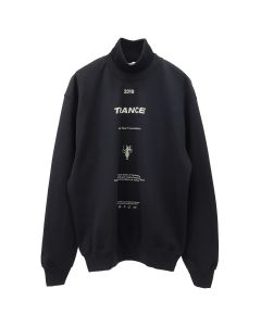 LĒO BANBA/TURTLENECK SWEATSHIRT / BLACK