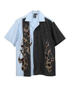 LIAM HODGES FIREBALL SHIRT / 500 : BLUE