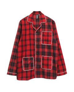 LIAM HODGES HOTEL PJ SHIRT / 253 : RED
