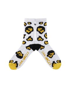 LIAM HODGES ANIMAL HOUSE SOCKS / 135 : WHITE