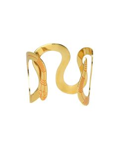 LILITH by Sita Abellan B SITA CUFF / ORANGE-GOLD