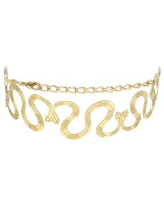 LILITH by Sita Abellan N DOUBLE SITA CHOKER BIG / GOLD-GOLD