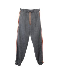 LANDLORD NEW YORK WOOL RUNNING PANTS / PIN STRIPE