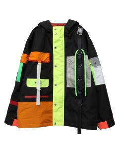 LANDLORD NEW YORK SPACE COLONY PARKA / BLACK