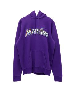 MLB x MARCELO BURLON MIAMI MARLINS HOODIE / VIOLET MULTICOLOR
