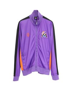 MLB x MARCELO BURLON MIAMI MARLINS TRACK / 2988 : VIOLET MULTCOLOR