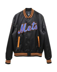 MLB x MARCELO BURLON NY METS OUTWEAR / BLACK MULTICOLOR