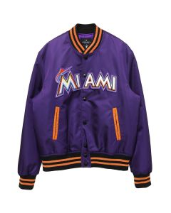 MLB x MARCELO BURLON MIAMI MARLINS OUTWEAR / VIOLET MULTICOLOR