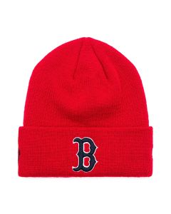 MLB x MARCELO BURLON NE RED SOX BEANIE / RED BLUE