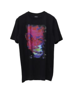 MARCELO BURLON DEFORMED CHILD T-SHIRT / 1088 : BLACK MULTI
