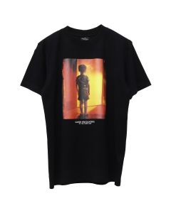 MARCELO BURLON C.E. CHILD T-SHIRT / 1088 : BLACK MULTI