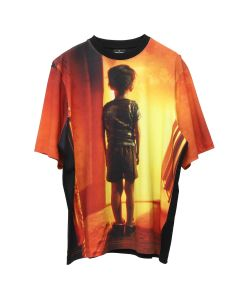 MARCELO BURLON C.E. ALL OVER CHILD T-SHIRT / 1088 : BLACK MULTI