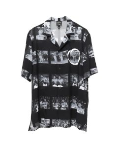 MARCELO BURLON ALL OVER ALI SHIRT / 8800 : MULTICOLOR NO COLOR