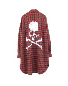 MASTERMIND WORLD CHECK SHIRT 3 / RED