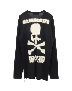 MASTERMIND WORLD L/S T-SHIRT 020 / BLACK