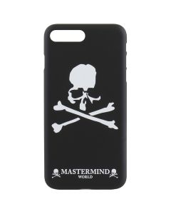 MASTERMIND WORLD i Phone 8Plus/7Plus CASE / BLACK-WHITE
