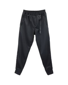 MASTERMIND JAPAN PANTS 033 / 002 : BLACK (BLACK TAPE)
