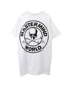 MASTERMIND WORLD T-SHIRT 027 / 001 : WHITE