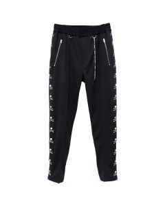 MASTERMIND WORLD PANT 034 / 2 : BLACK (BLACK TAPE)
