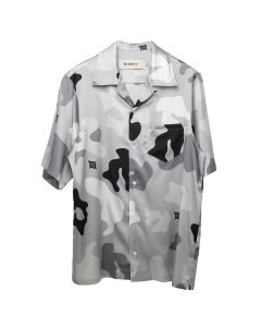 MISBHV GREY CAMO SHORT SLEEVE SHIRT / GREY CAMO