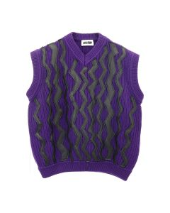 MAGLIANO ZIG ZAG ELECTRIC VEST / 065 : PURPLE