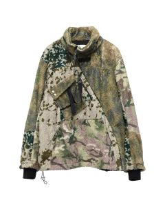 1017 ALYX 9SM MYLES ZIP POLAR FLEECE / 045 : CAMO