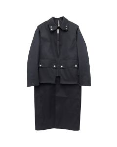 1017 ALYX 9SM OUTERWEAR MACKINTOSH COLLAB 2 / 001 : BLACK