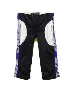 Martine Rose MOTORCROSS SHORTS / BLACK-GREEN