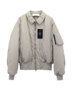 1017 ALYX 9SM BOMBER JKT WITH BUCKLE / BEG0001 : TAUPE