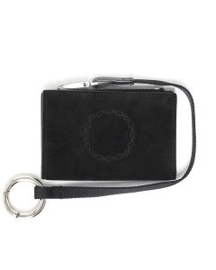 1017 ALYX 9SM TOM WALLET w/LANYARD / 001 : BLACK