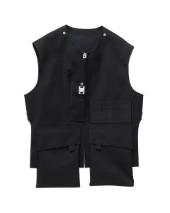 1017 ALYX 9SM MACKINTOSH VEST / 001 : BLACK