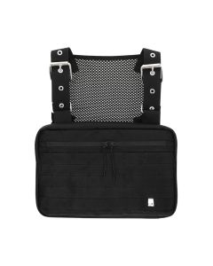 1017 ALYX 9SM MACKINTOSH STRAP CHEST RIG / 001 : BLACK