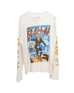 MadeWorn DEF LEPPARD WOMEN OF DOOM LONG / OFF WHITE