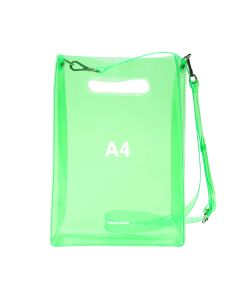 nana-nana A4 BAG / NEON GREEN