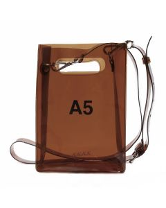 nana-nana A5 BAG / BROWN
