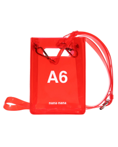 nana-nana A6 BAG / RED