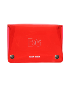 nana-nana PVC B6 BAG / RED