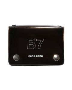 nana-nana PVC B7 BAG / BLACK