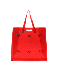 nana-nana PANEL A5 BAG / RED